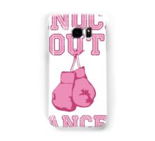 Knock Out Breast Cancer Samsung Galaxy Case/Skin
