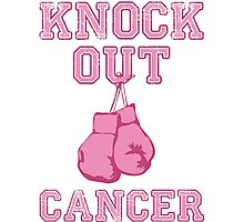 Knock Out Breast Cancer Photographic Print