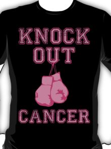 Knock Out Breast Cancer T-Shirt