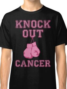 Knock Out Breast Cancer Classic T-Shirt
