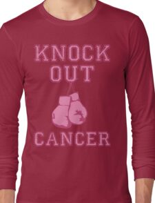 Knock Out Breast Cancer Long Sleeve T-Shirt