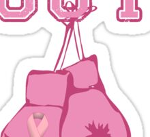 Knock Out Breast Cancer Sticker