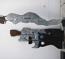 Sculptures by Tas Wansbrough