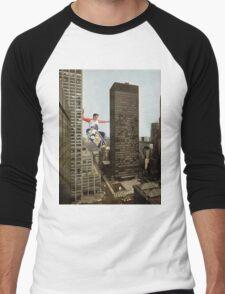 URBAN SK8. Men's Baseball ¾ T-Shirt