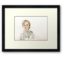 Jack & Teddy Framed Print