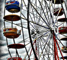 Ferris Wheel  by Saija  Lehtonen