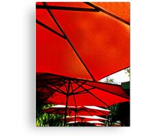 Cell Phone Umbrellas Canvas Print
