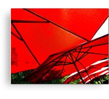 Cell Phone Umbrellas 2 Canvas Print