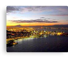 Rio de Janeiro after sunset Canvas Print