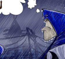 The Dark (and stormy) Knight Sticker