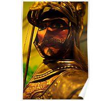 Knight, Museo Aretuseo dei Pupi, Siracusa, Sicily  Poster