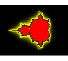 Earth People & Space Mandelbrot Photographic Print