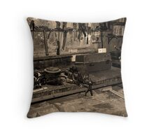 Workshop Throw Pillow