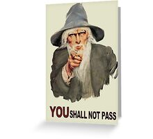 Uncle Gandalf Greeting Card