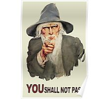Uncle Gandalf Poster
