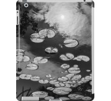 The afternoon sun in the lily pad pond iPad Case/Skin