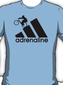 Mountain Biker - Trials - adrenaline - adidas parody T-Shirt