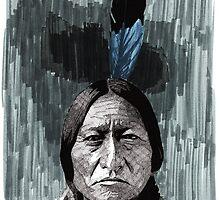 Sitting Bull by RikReimert