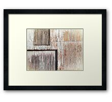 Warehouse Abstract Framed Print