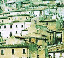 Abruzzo's village by gluca