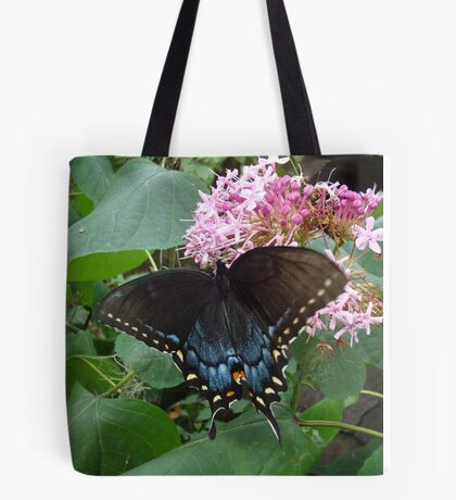 Black Eastern Swallowtail - Summer's End Tote Bag