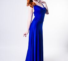 Mary Kate - Blue Dress by mkwiles