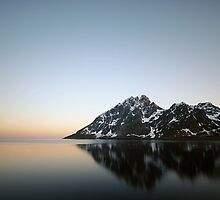 Dusk - Lofoten Islands by Tim Edmonds