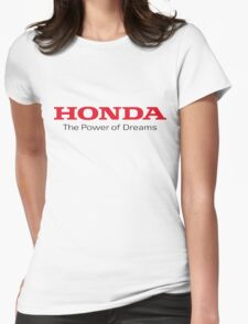 honda power of dreams Womens Fitted T-Shirt