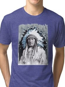 Native American Chief Tri-blend T-Shirt