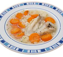 chicken wing soup by szala