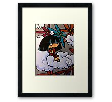 Sitting Lonely Framed Print