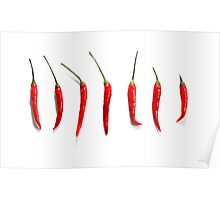 Chilli Peppers  Poster