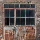 old factory door by szala