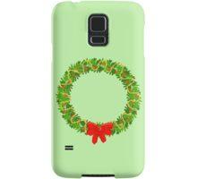 Holiday Wreath Samsung Galaxy Case/Skin