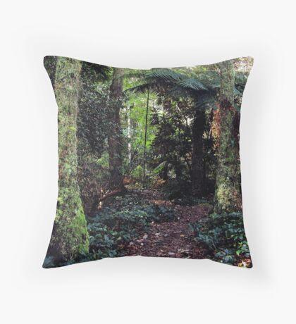 Bush Track. Throw Pillow