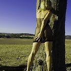 girl and tree by Ingrid Merrett