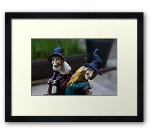 Pendle Witches Framed Print