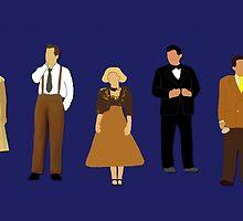 American In Paris Cast by divaree