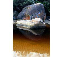 coloured rock Photographic Print