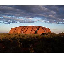 "Ayres Rock "" Uluru"" Central Australia Photographic Print"