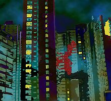 Chinese Nightmare- High rise Density  by kreativekate