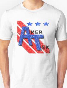 AmerTek Distressed Logo Shirt Unisex T-Shirt