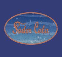 Distressed Soder Cola Logo Shirt by KeisukeZero