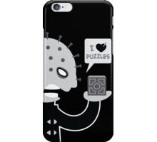 I Love Puzzles iPhone Case/Skin