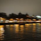 Reflection - London Thames by Dhruba Tamuli