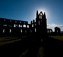 Whitby Abbey by mooseshooz