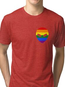 Gay Alien Tri-blend T-Shirt