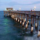 Cocoa Beach Pier by Roman Romanenko