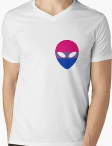 Bisexual Alien Mens V-Neck T-Shirt