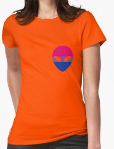Bisexual Alien Womens Fitted T-Shirt